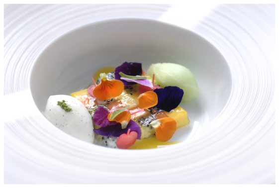3 michelin star chef jacob jan boerma from the netherlands for Avant garde cuisine