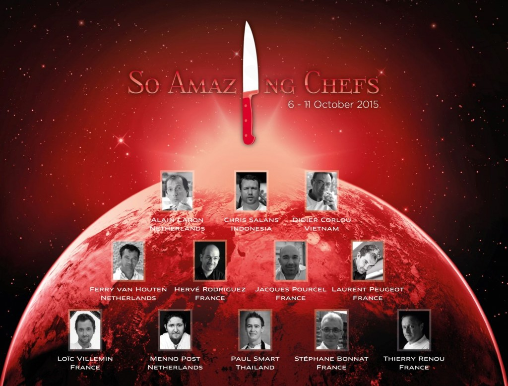 So Amazing Chefs 2015, October  - 15