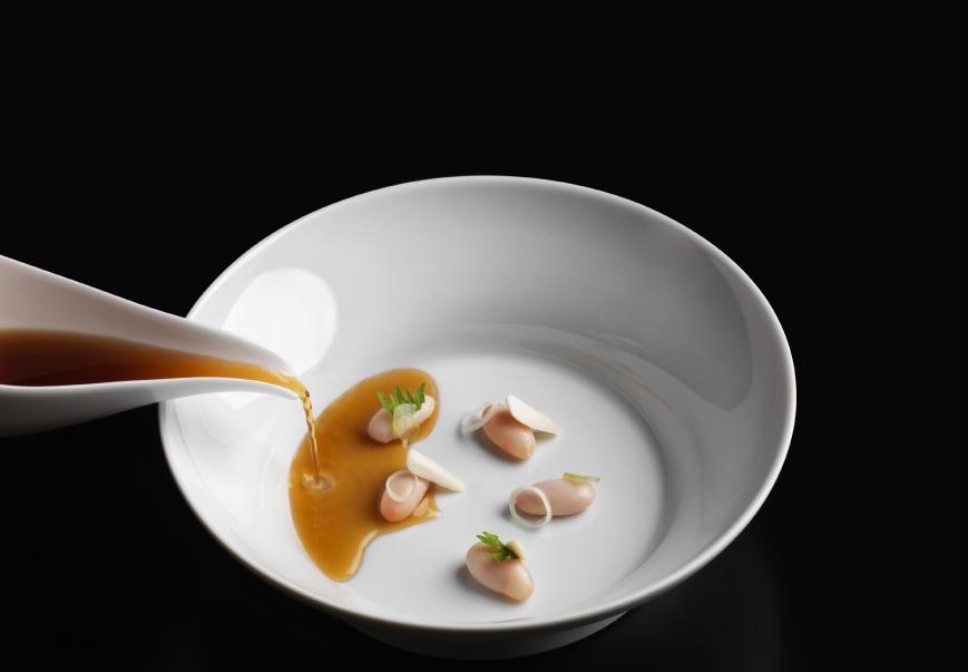 Chef Bartolini's creation