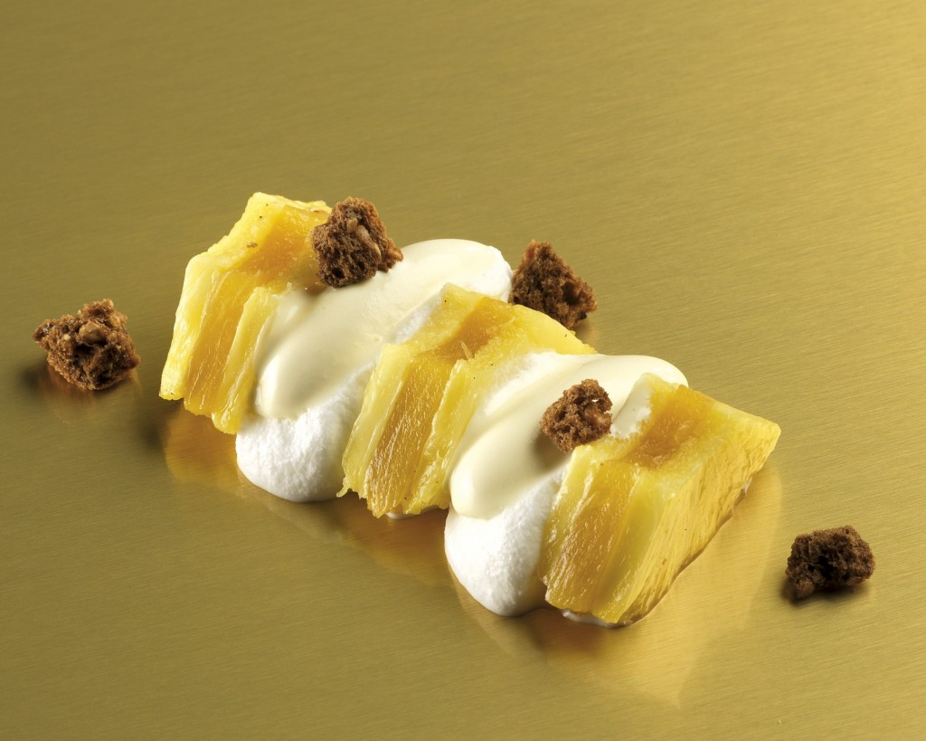 Chef Alfredo Russo's Dolce Ananas