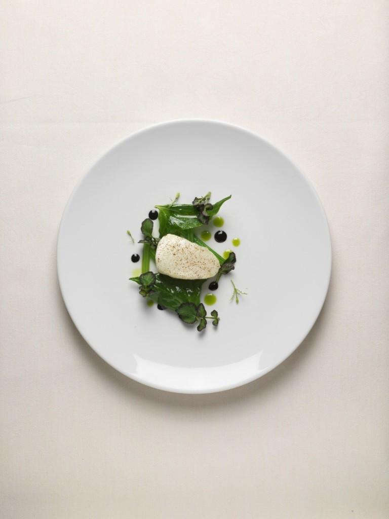 Légine beurre de miso et poireau