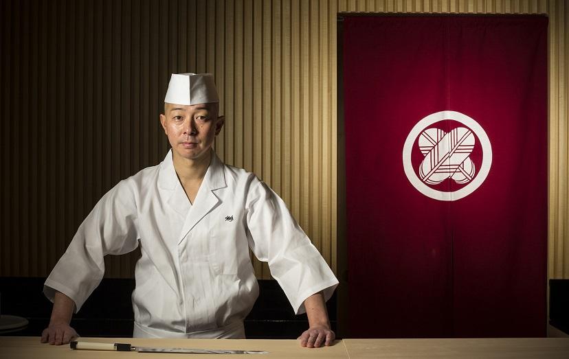 Portrait of Shinji Kanesake.