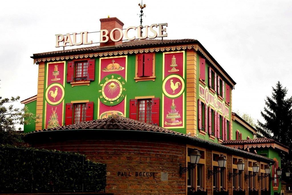 Paul Bocuse Resturant in Lyon1 .1