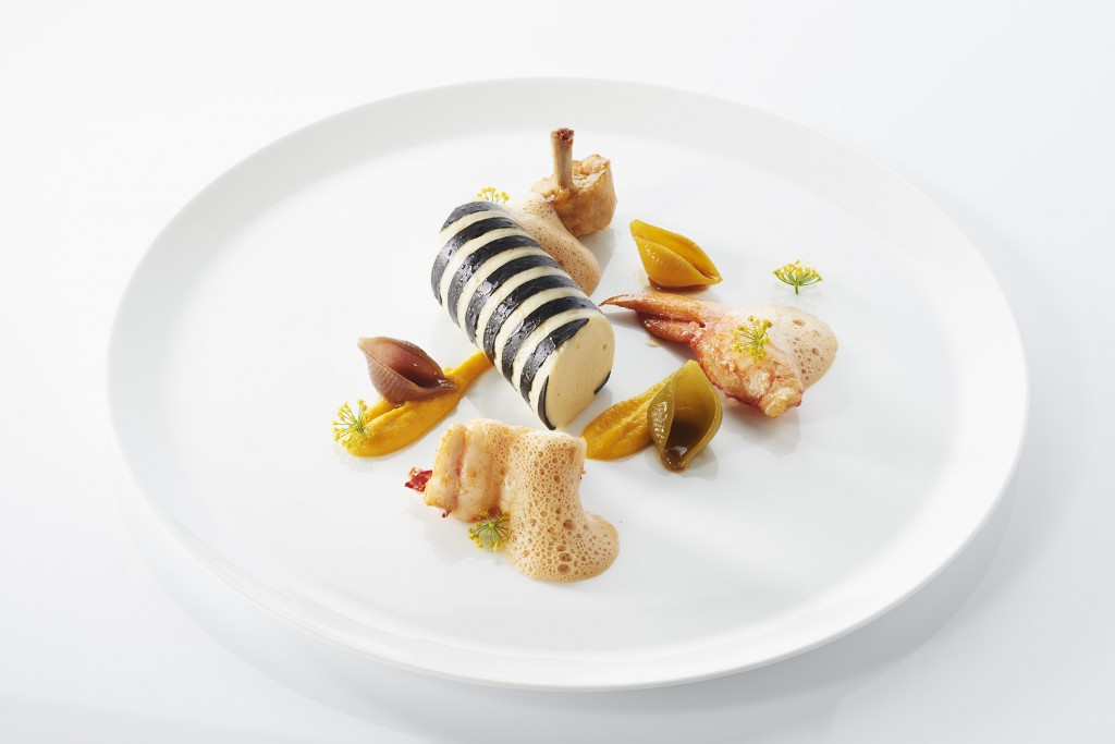 Menu by 2-Michelin Star Chef Stephane Buron (4)