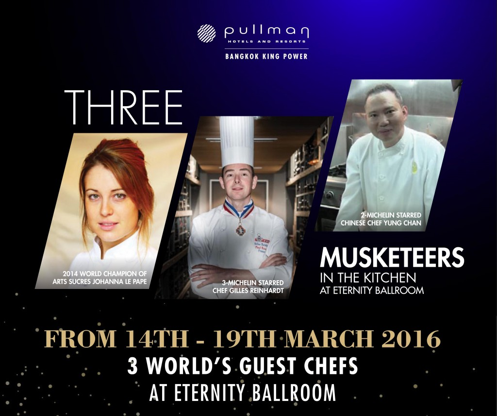 3 Michelin Starred Dinner at Pullman Bangkok King Power