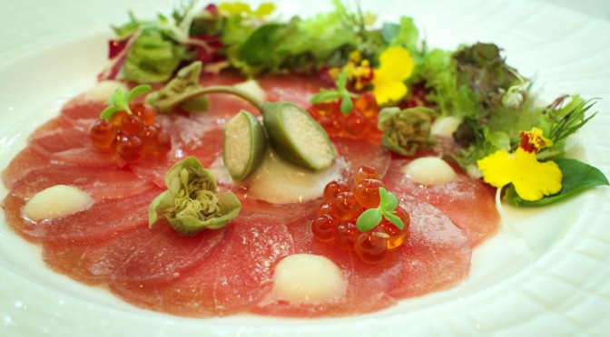 Best Sommelier Wine Evening_Yellow   Tail Tuna Carpaccio
