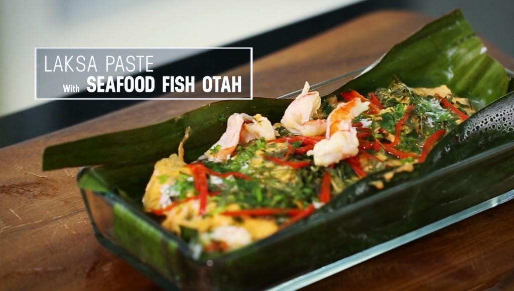 LaksaPaste Seafood Fish Otah