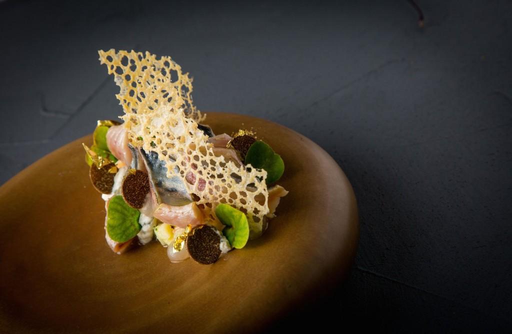 Mackerel & truffle