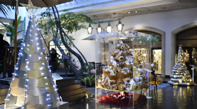 Christmas Tree in Parichart Court 2