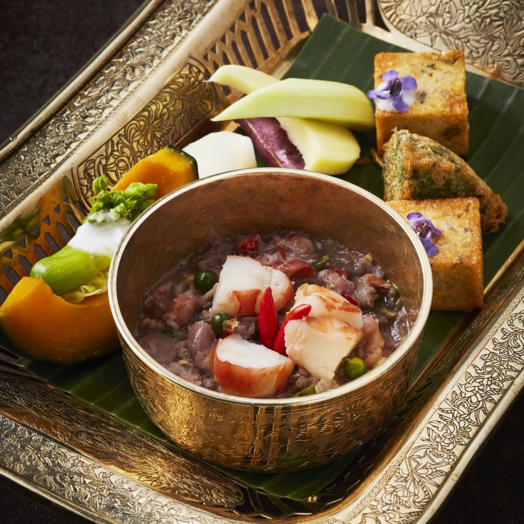 น้ำพริกกุ้งลายเสือสดพริกไทยอ่อนจันทบุรีปลาทูแม่กลอง - RHAAN1