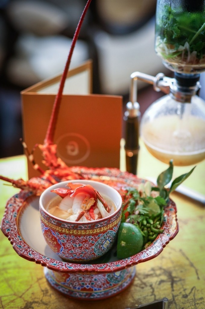 Innovative and Ancient Recipe Phuket's Lobster Tom Yum (2)