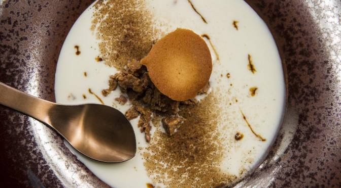 4) Zuppa di latte, cioccolato, caffè e carrubba