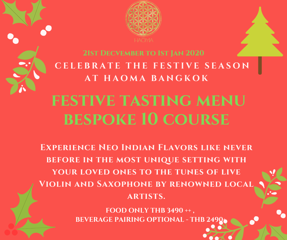 festive season at Haoma poster