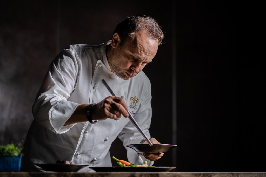 2-Michelin Star French Chef Thierry Drapeau