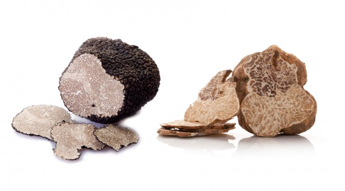 Black & White Truffle Delights