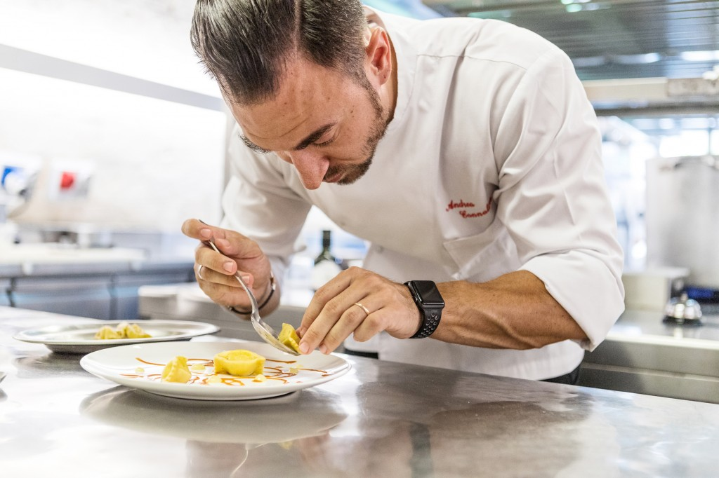 Chef Cannalire_impiattamento plin