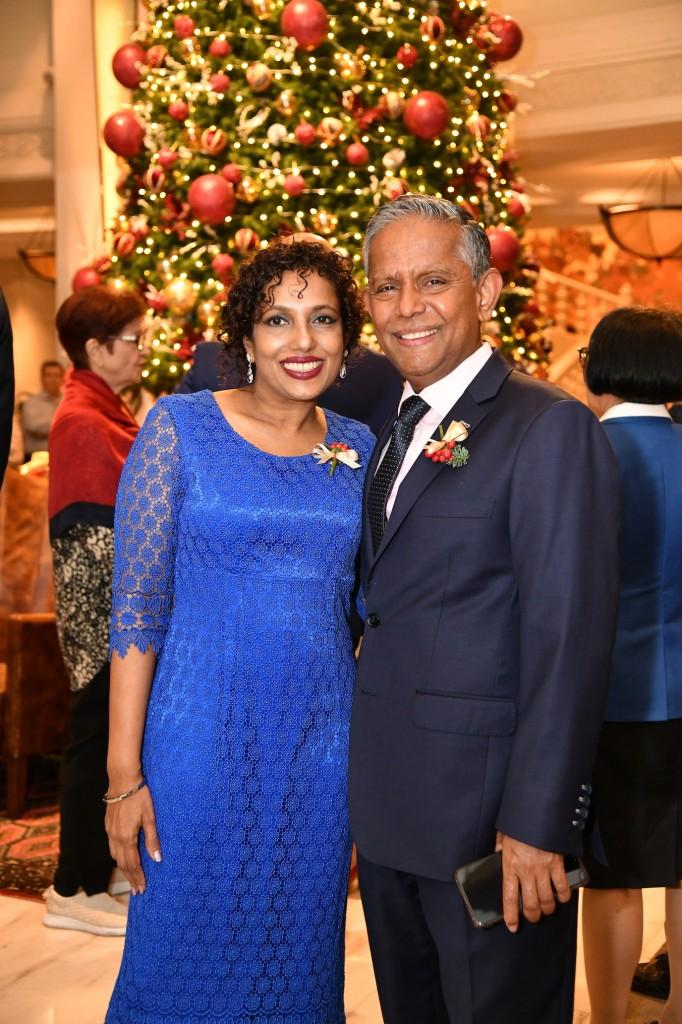 Mr. Dillip & Mrs. Chris Rajakarier