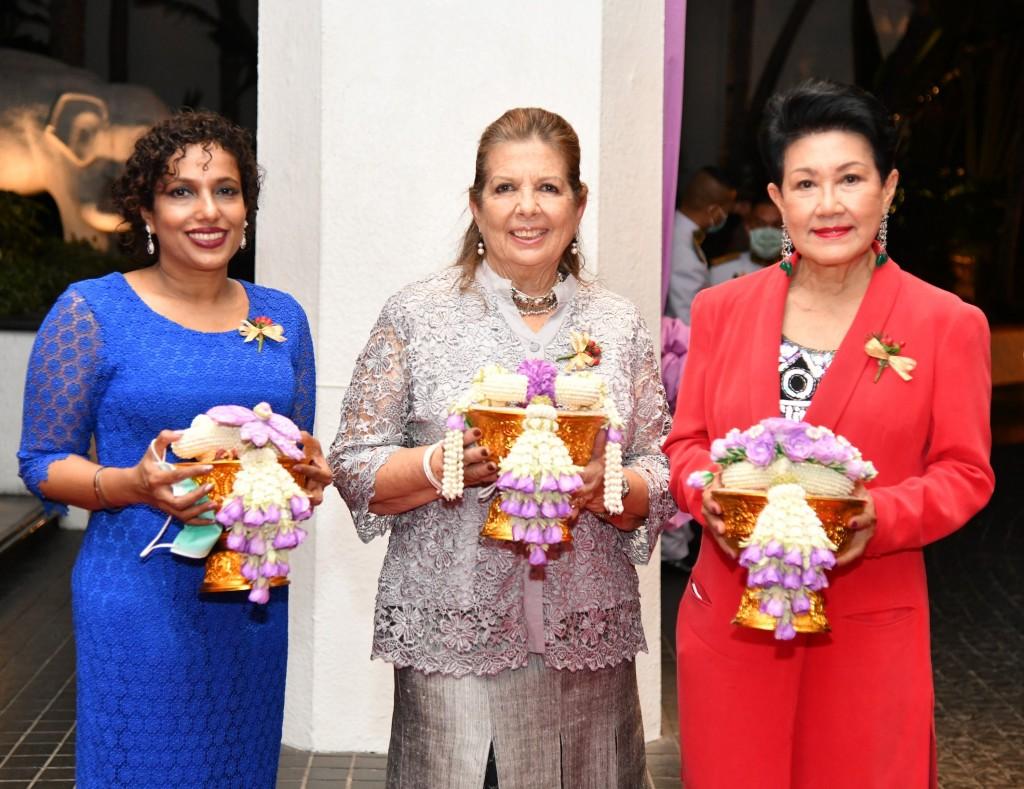 Mrs. Chris, Mrs. Kathy, Thanpuying Varaporn