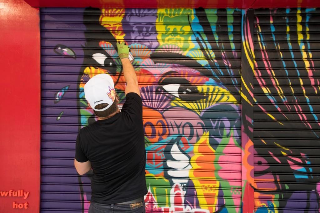 1.HK Street Art_Szabotage - street artist