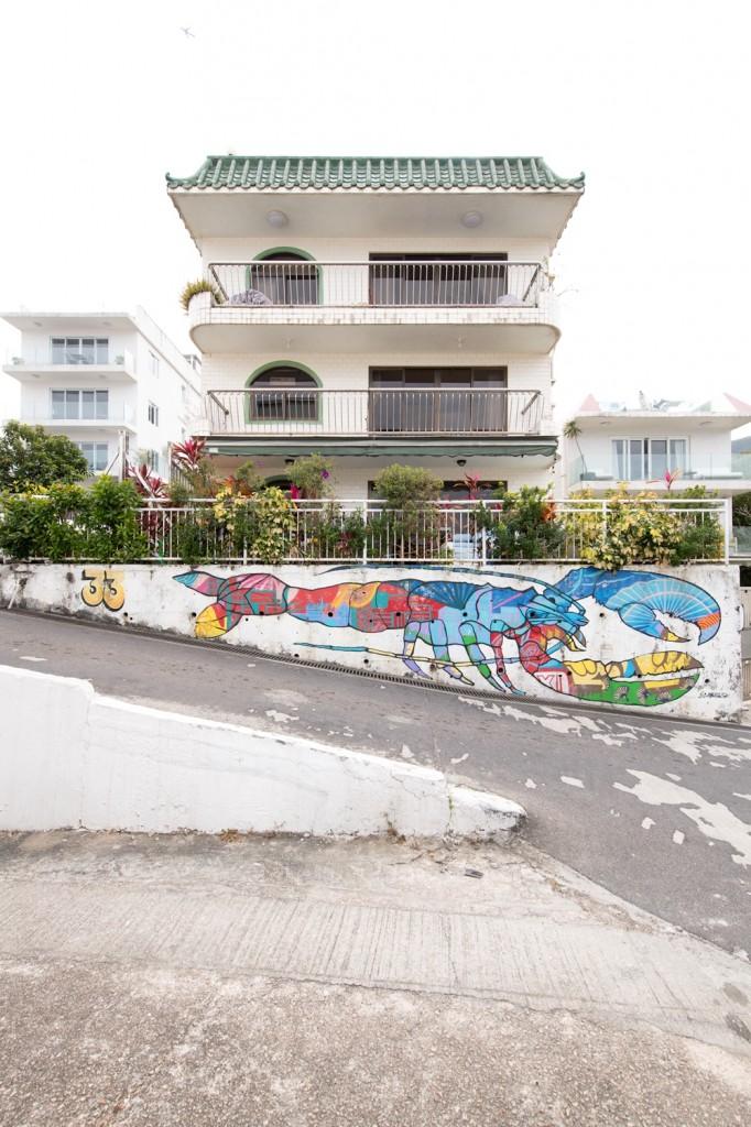 10.HK Street Art_Szabotage - lobster house
