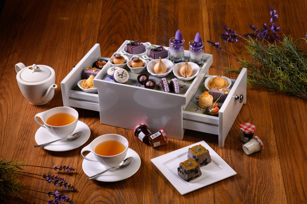 Up & Above Bar_Lavender Afternoon Tea_1