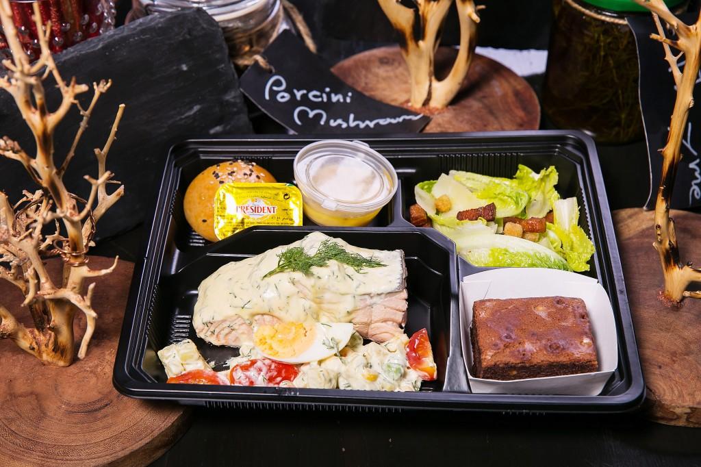 """Salmon Lunch"" Box"