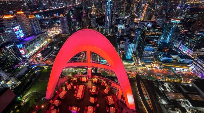 Centara Grand & Bangkok Convention Centre at CentralWorld - Red Sky  07